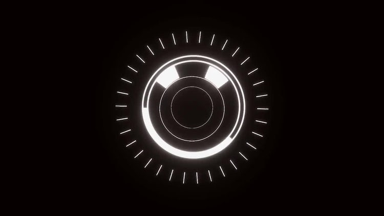 2D  Flat Glow Logo Opener: After Effects Templates