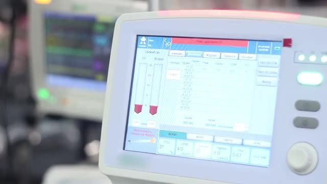 Intensive Care Multi-parameter Monitor: Stock Video