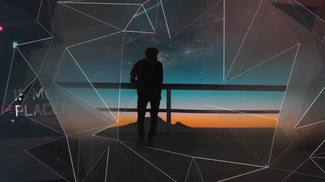 Slideshow - Elegant Plexus: After Effects Templates