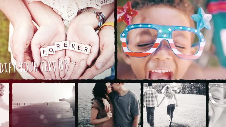 Beautiful Memory: After Effects Templates