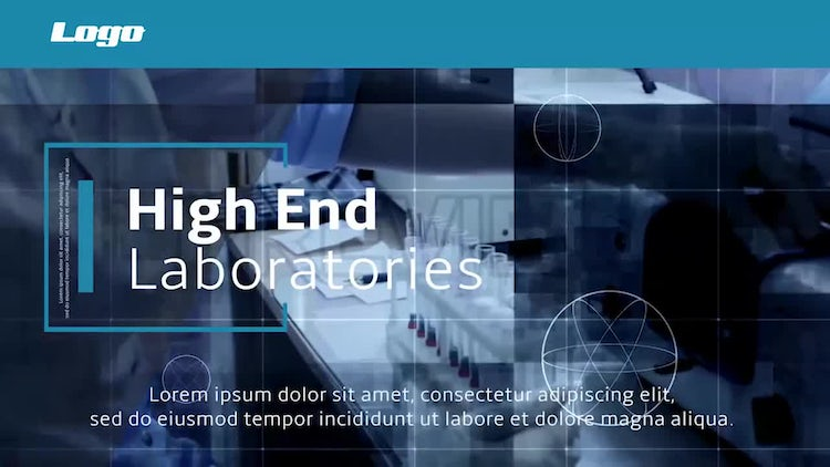 Medical Technology Slideshow: Premiere Pro Templates