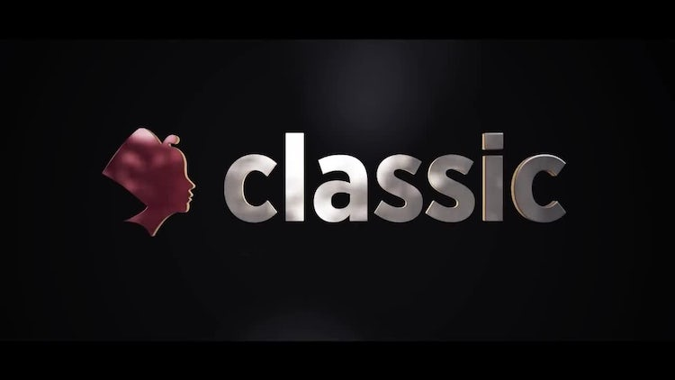 Classic Logo Reveal: After Effects Templates