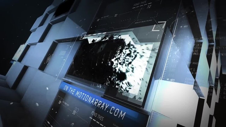 Broadcast Wall Promo: After Effects Templates
