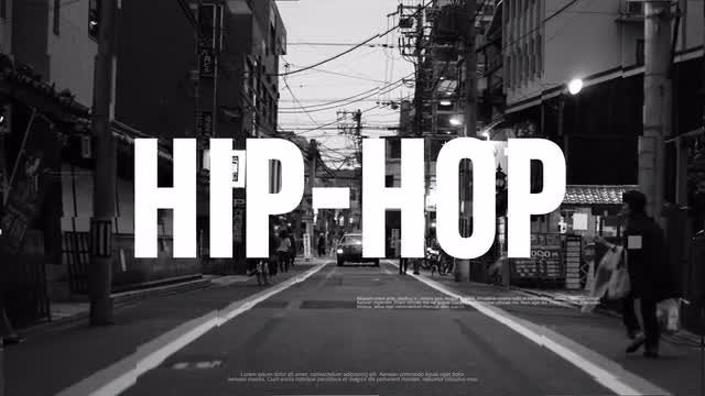 Urban Hip-Hop Opener: After Effects Templates