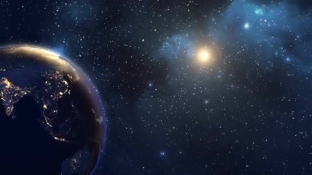 Earth's Daytime Seen From Space: Stock Motion Graphics