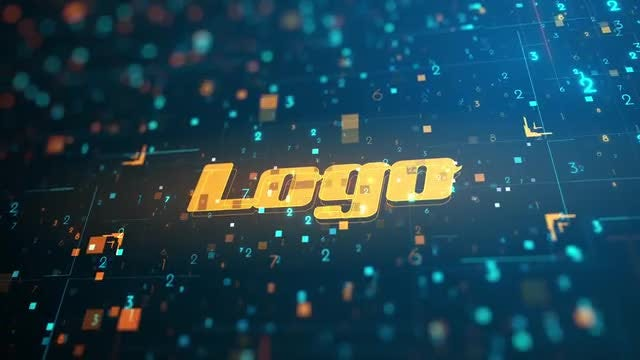 Futuristic Logo Reveal: After Effects Templates