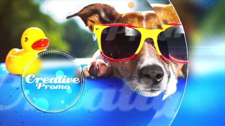 Summer Cool: After Effects Templates