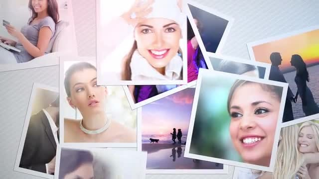Glossy Photos: After Effects Templates