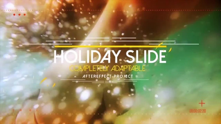 Holiday Slide: After Effects Templates