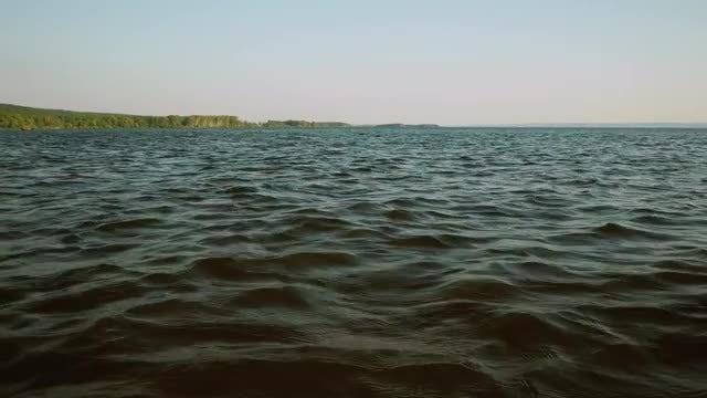 Close-up Shot Of Rippling Sea: Stock Video