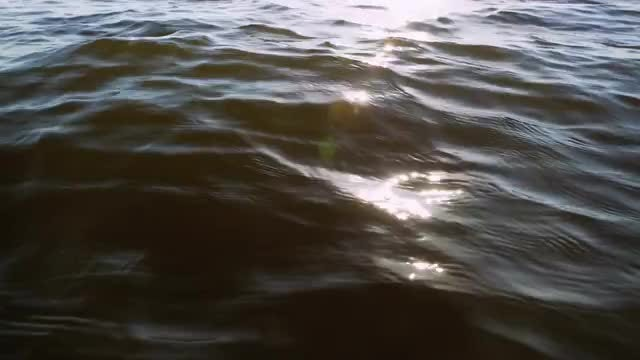 Close-up Shot Of Rippling Ocean: Stock Video
