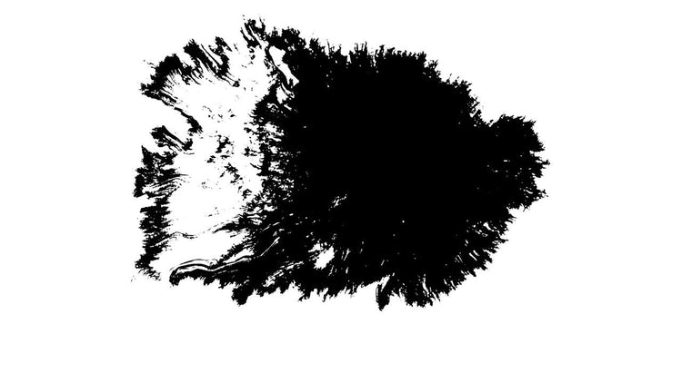 4K Ink Blots 01: Stock Video