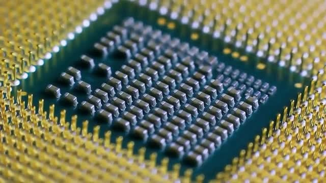 Computer Processor Socket Base : Stock Video