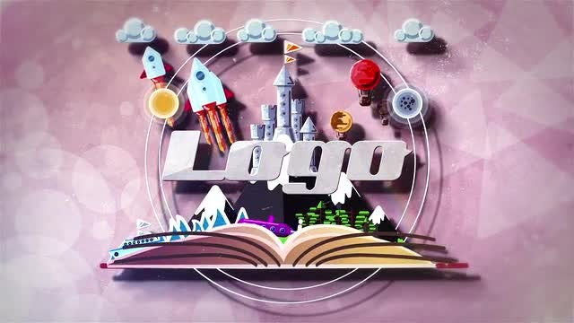 Animated Landscape Logo 2: After Effects Templates