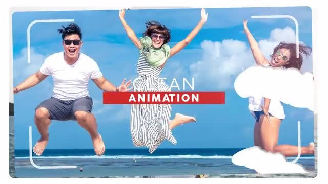 Holiday Slideshow: After Effects Templates