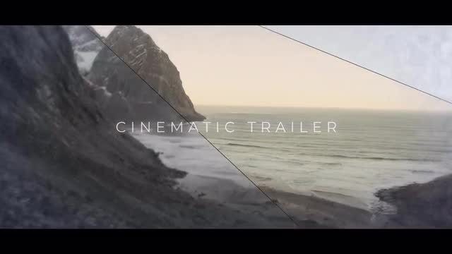 Epic Cinematic Trailer 4k: After Effects Templates