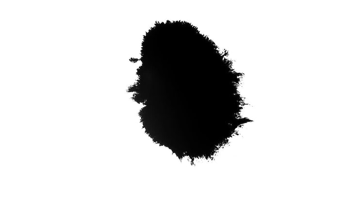 4k Ink Blots 03: Stock Video