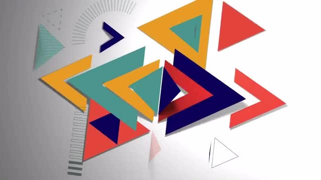 Triangles Logo: After Effects Templates