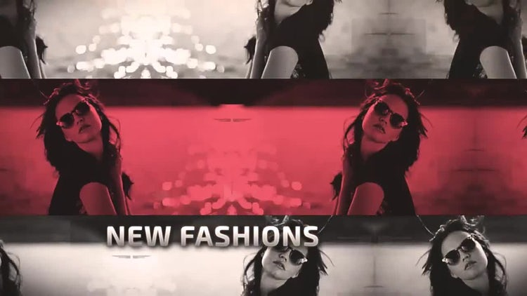 Urban Fashion: After Effects Templates