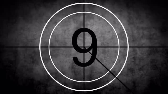 Projector 'Old Film' Countdown Pack: Stock Motion Graphics