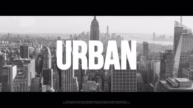Urban Hip-Hop Opener: Premiere Pro Templates