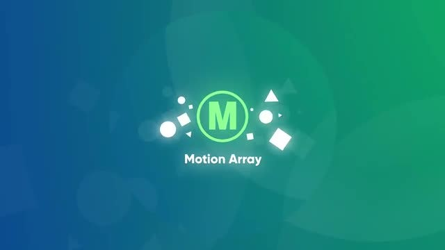 Glowing Shapes Logo: After Effects Templates