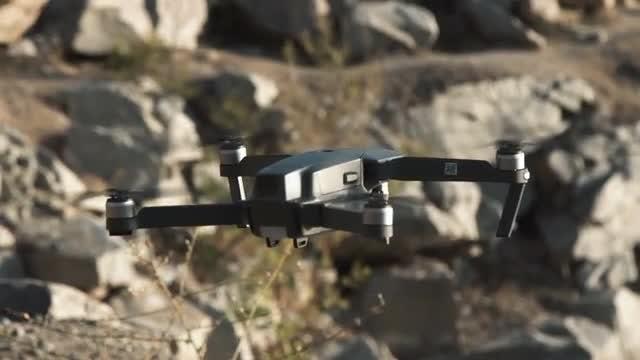 Black Drone: Stock Video