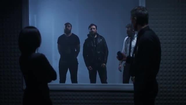 Line-Up Of Criminals: Stock Video