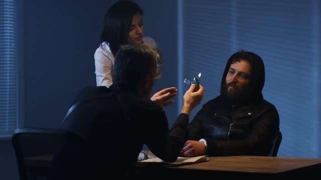 Intimidating A Criminal: Stock Video