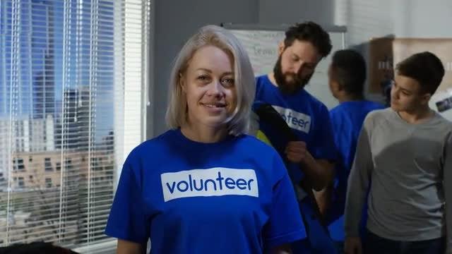 Outreach Volunteer: Stock Video