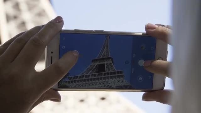 Eiffel Tower Picture: Stock Video