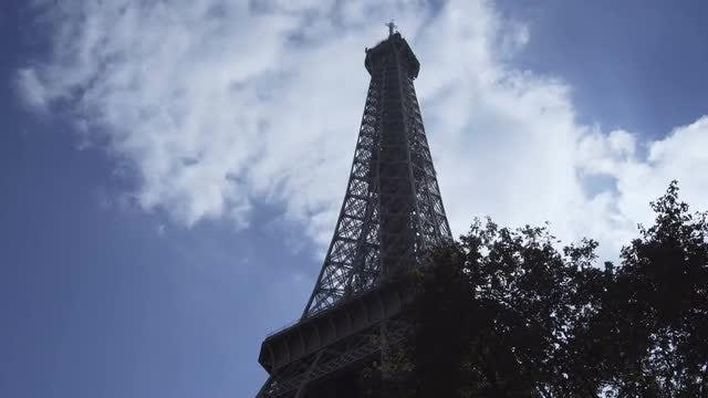 Eiffel Tower: Stock Video
