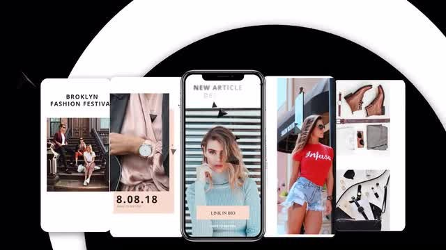 Instagram Stories Vol 2: After Effects Templates