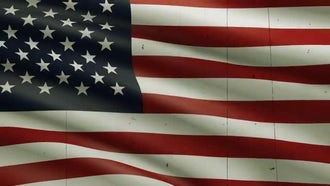 USA Flag Background: Motion Graphics