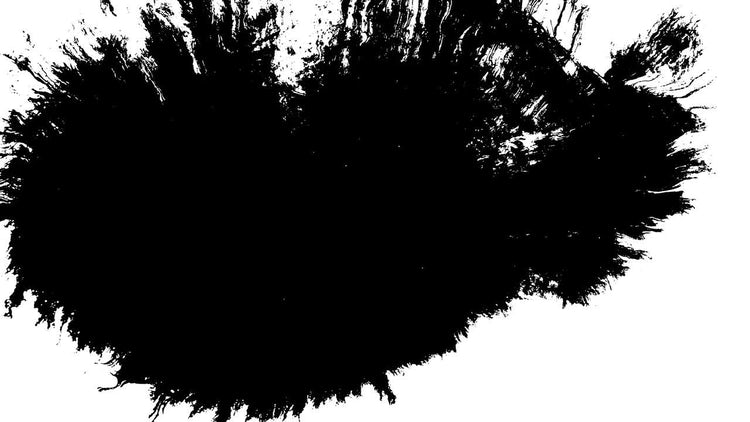 4k Ink Blots 06: Stock Video