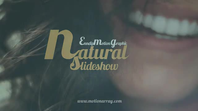 Natural Slideshow: After Effects Templates
