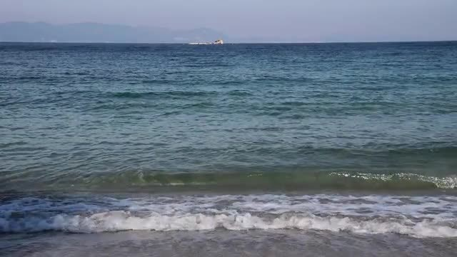 Calm Sea Shore: Stock Video