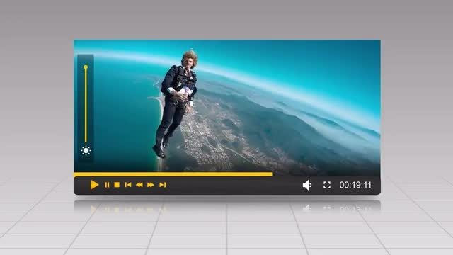 Green Screen Video Player: Stock Motion Graphics