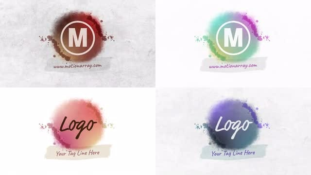 Watercolor Logo: After Effects Templates