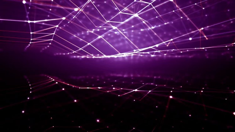 Digital Electric Waves: Stock Motion Graphics