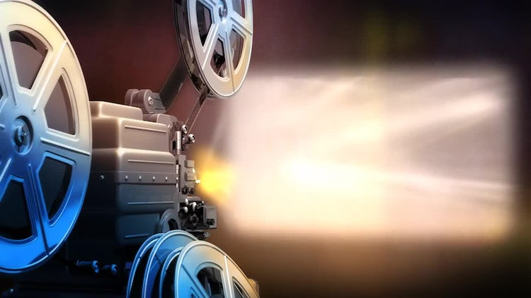 Film Projector 4K: Stock Motion Graphics