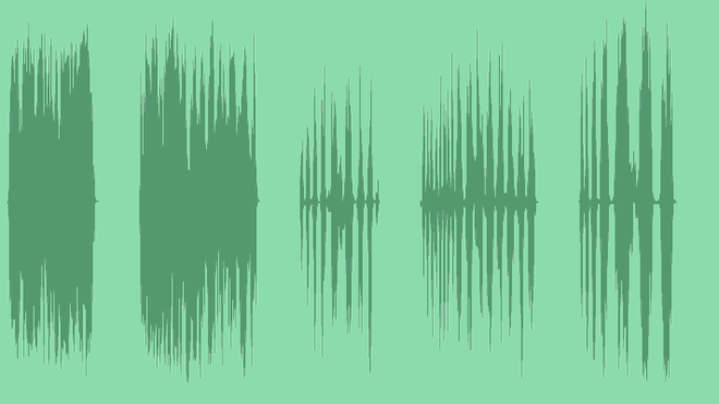 Wobble Oscillations: Sound Effects