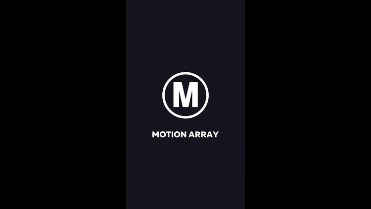 Modern Glitch Logo Horizontal & Vertical: Premiere Pro Templates