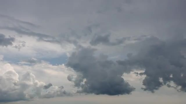 Thunderstorm Clouds with Impending Rain: Stock Video