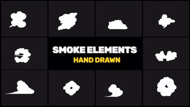Smoke Elements Animation Pack: Stock Motion Graphics