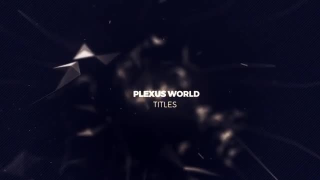 Plexus World (MG): Motion Graphics Templates