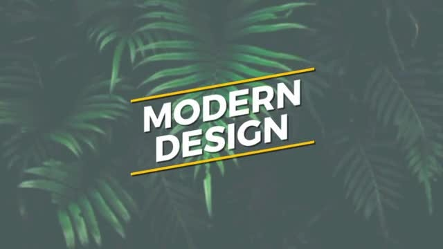 Modern Titles 1: After Effects Templates