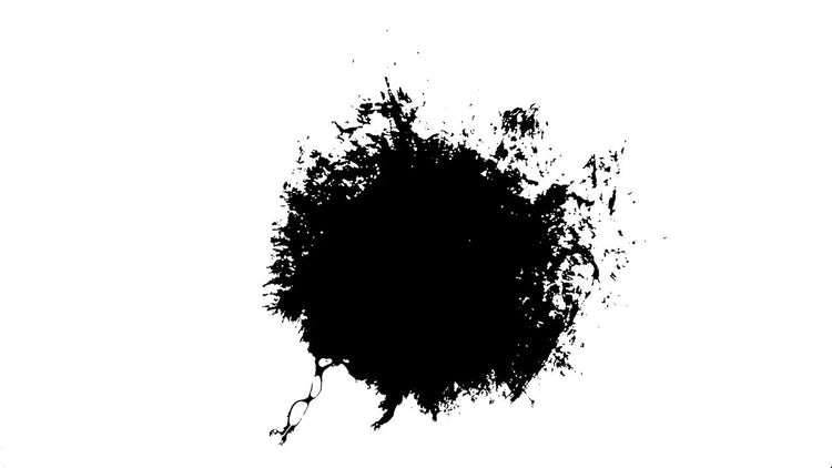 4k Ink Blots 10: Stock Video