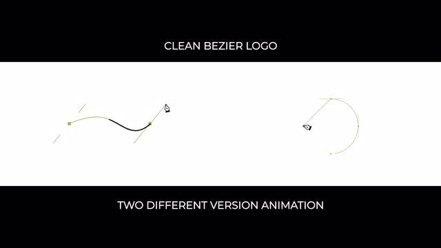 Clean Bezier Logo: After Effects Templates