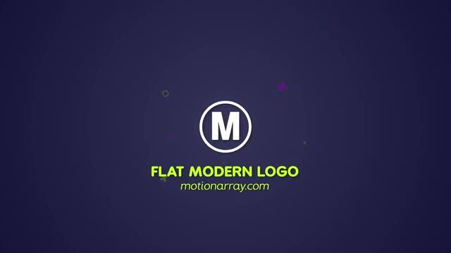 Modern Flat Logo: After Effects Templates